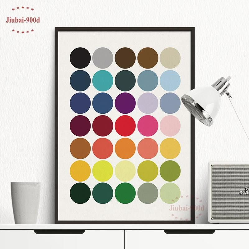 cheap painting frames unique ome decor painting calligraphy colorful dot canvas painting poster photograph