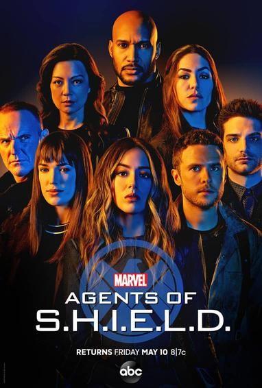 marel s agents of s h i e l d tv show poster