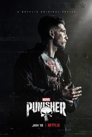 marvel s the punisher season 2 tv show poster