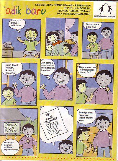 kartun strip poster dan iklan layanan masyarakat karyaku kartun martono