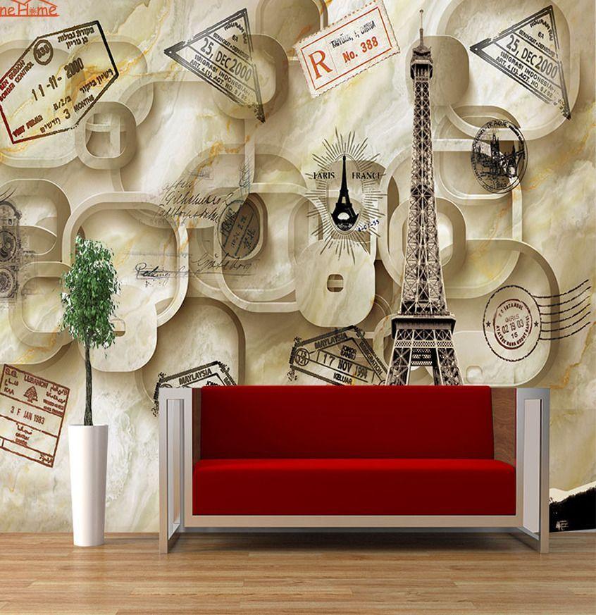 perang adegan penembakan vintage 3d kamar anak anak dinding bata merah kertas cetak foto wallpaper untuk