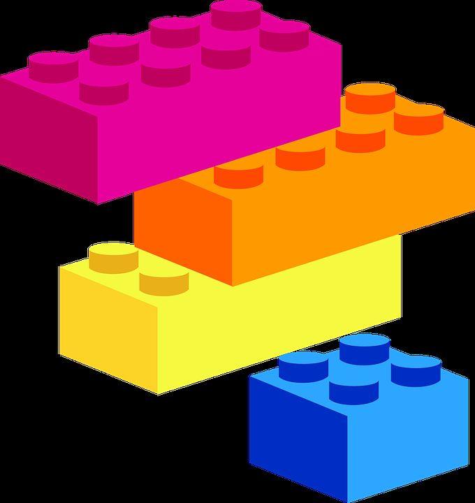 blok bangunan bentuk teka teki mainan blok bermain