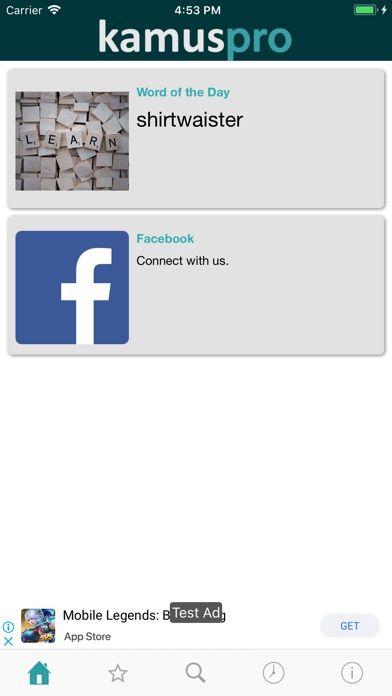 kamus pro screenshot