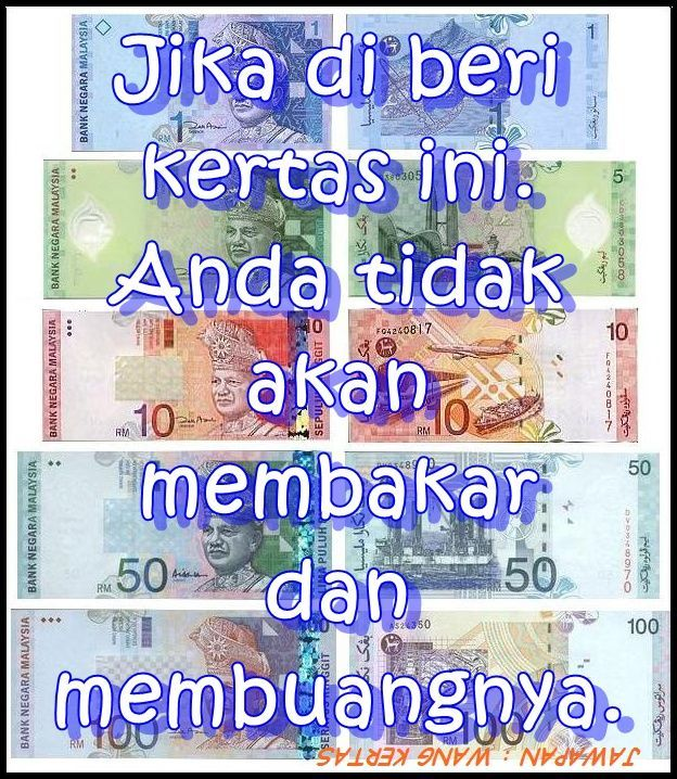 jawapan wang kertas