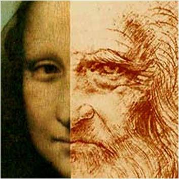 lukisan monalisa adalah lukisan wajah leonardo da vinci sendiri
