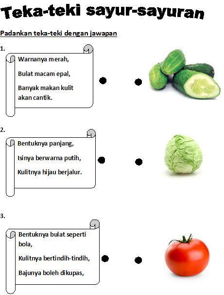 contoh teka teki matematik bergambar dan jawapan yang berguna untuk ibubapa