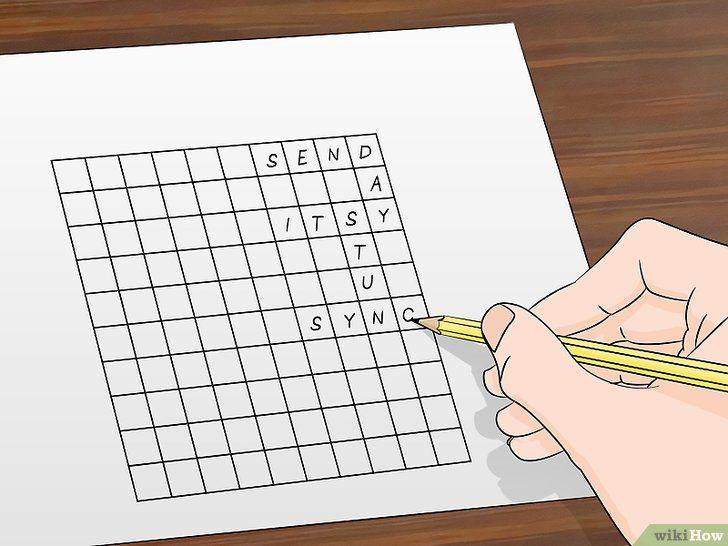 gambar berjudul make crossword puzzles step 3