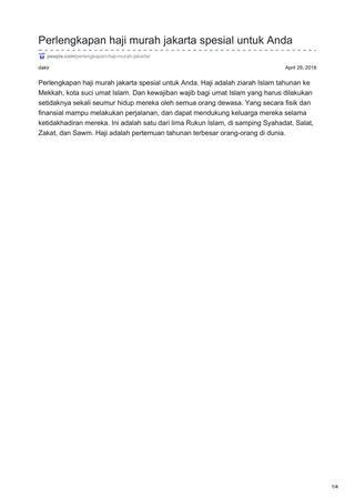 peepis com perlengkapan haji murah jakarta spesial untuk anda