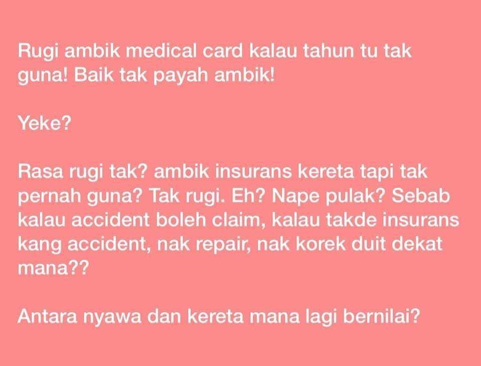 medicalcard hibahtakaful kadperubatan pelanpenggantigaji incomereplacement tidak kira masa dan tempat