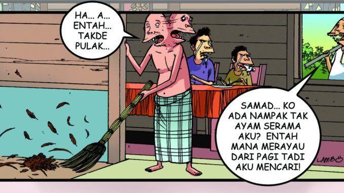 polis malaysia dan polis indonesia mana yang lebih tua berikan jawapan dengan sebab sekali ilustrasi lawak 1001 teka teki