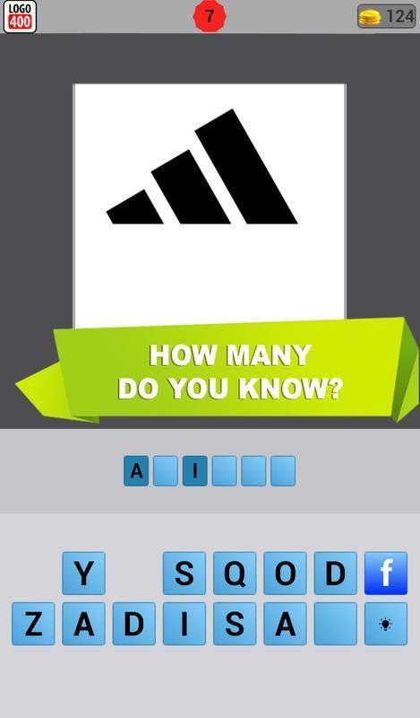 extreme logo mania logos quiz poster