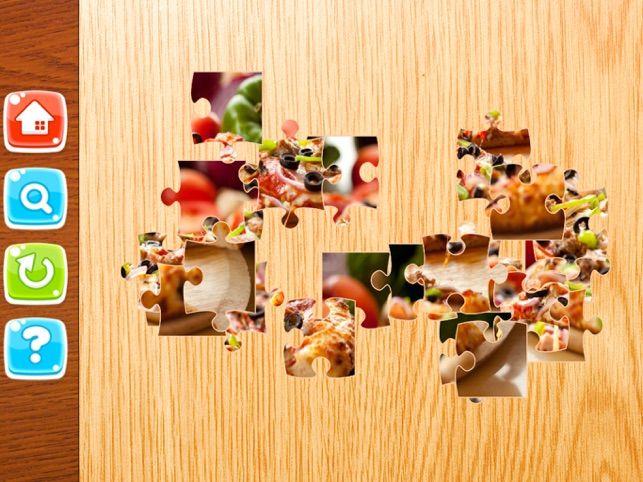 makanan jigsaw pembelajaran permainan menyeronokkan teka teki di app store