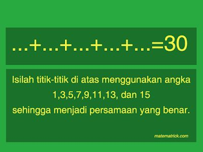 teka teki matematika
