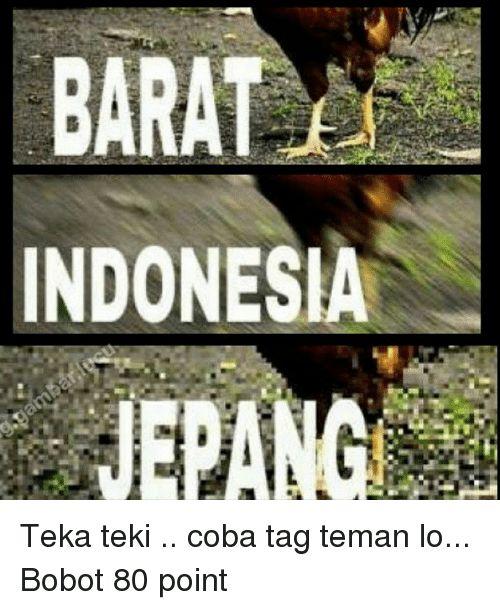 indonesia tagged and indonesian language barat indonesia teka teki