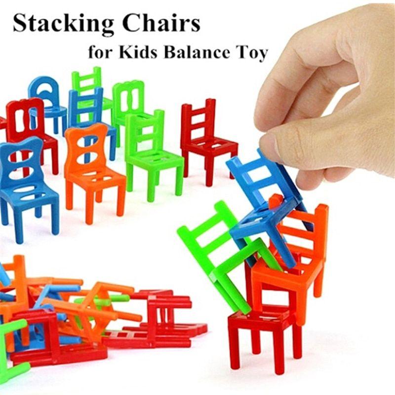 ini bisa menjadi permainan keluarga pesta permainan sangat menarik paket termasuk 18 pcs set keseimbangan kursi