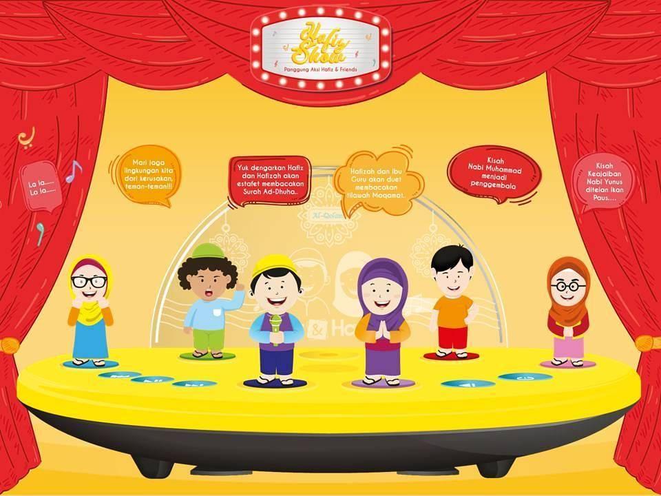 hafiz show adalah panggung aksi hafiz friends sebuah pertunjukan anak yang sangat seru