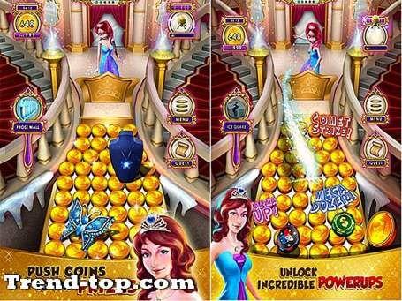 princess gold coin party dozer adalah permainan kasino lainnya oleh mindstorm studios yang membuat berbagai pesta coin party space party soda dan jurassic