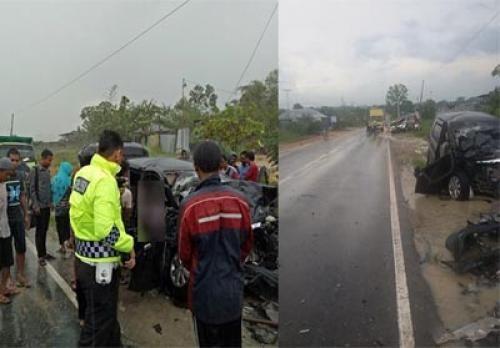 selamat dalam kecelakaan lalu lintas yang menewaskan tiga orang di jalan siak ii kilometer 07 depan pt scw kelurahan rumbai bukit kecamatan rumbai