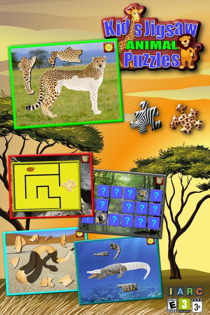 dapatkan kanak kanak haiwan teka teki jigsaw mengajar bentuk dan sepadan microsoft store ms my
