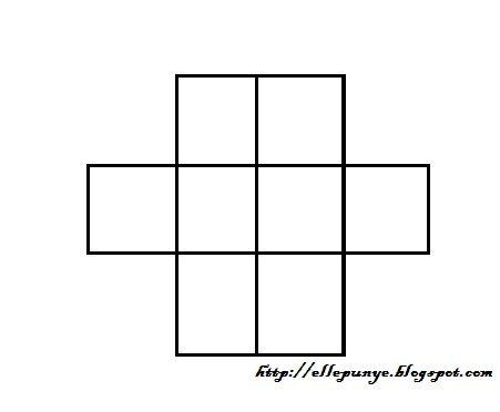 di atas ni ada 8 kotak semuanya sila isi angka antara 1 hingga 8 di setiap kotak dengan syarat nombor berturutan tak boleh bersebelahan dan nombor tak