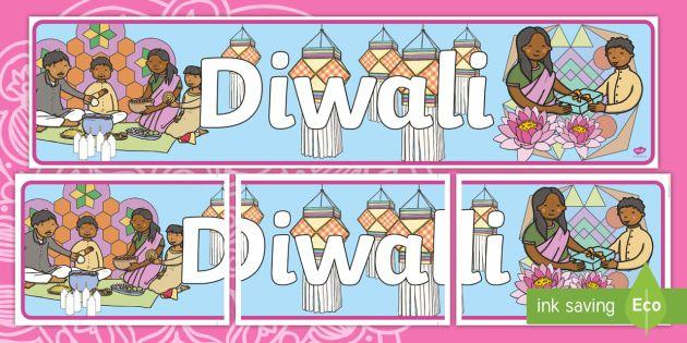 diwali display banner