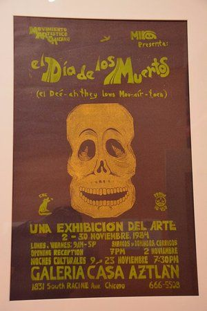 national museum of mexican art more day of the dead posters