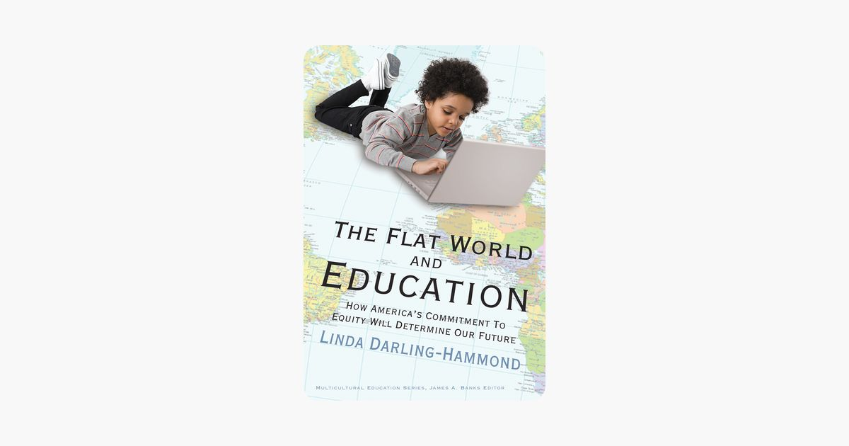 the flat world and education on apple books
