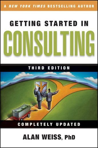 Fyp Poster Baik Getting Started In Consulting Book by Alan Weiss Paperback