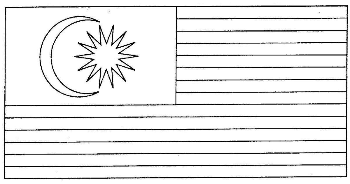bendera malaysia clipart collection jpg 1200x630 gambar mewarnai sekolah dan bendera