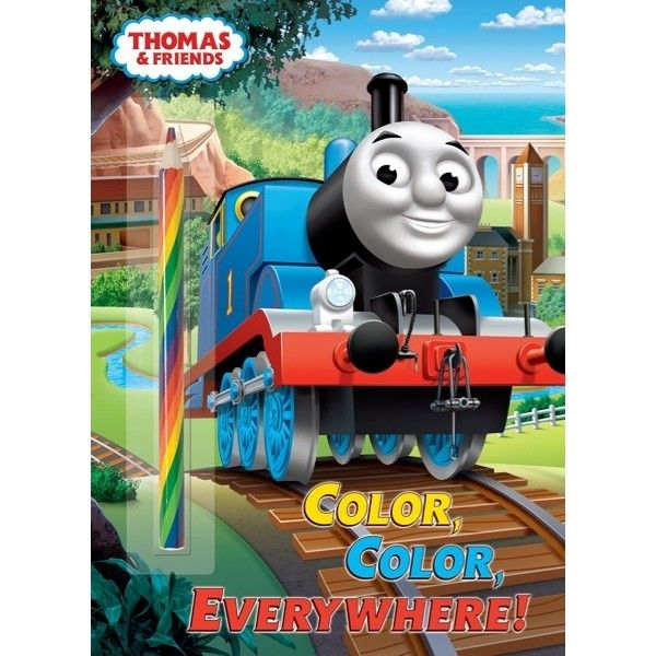 color color everywhere thomas friends coloring book 57798 michigan