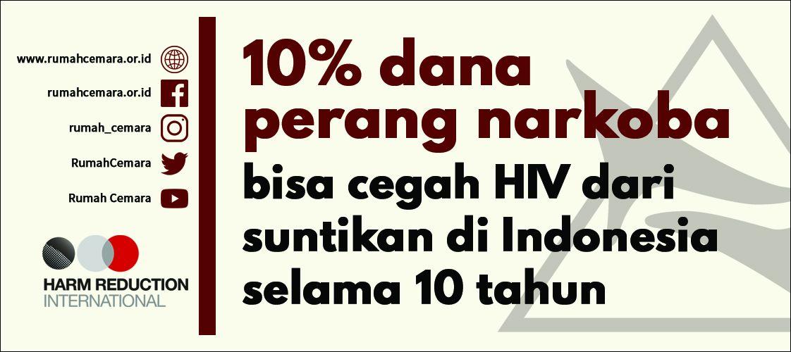Gambar Poster Narkoba Hebat Kampanye 10 by 20 Alihkan Dana Perang Narkoba Untuk Kesehatan