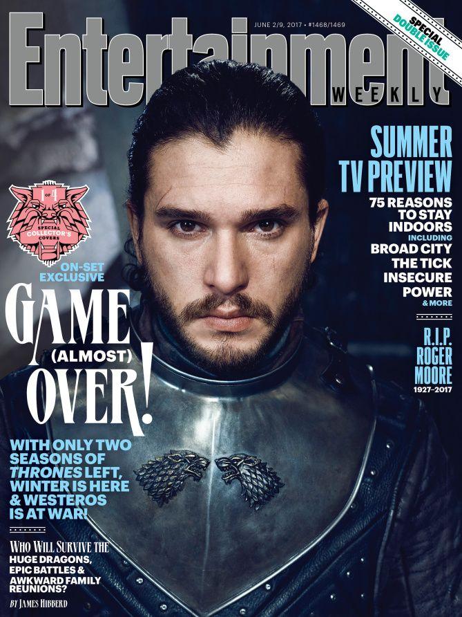 game of thrones see emilia clarke sophie turner kit harington on ew covers ew com