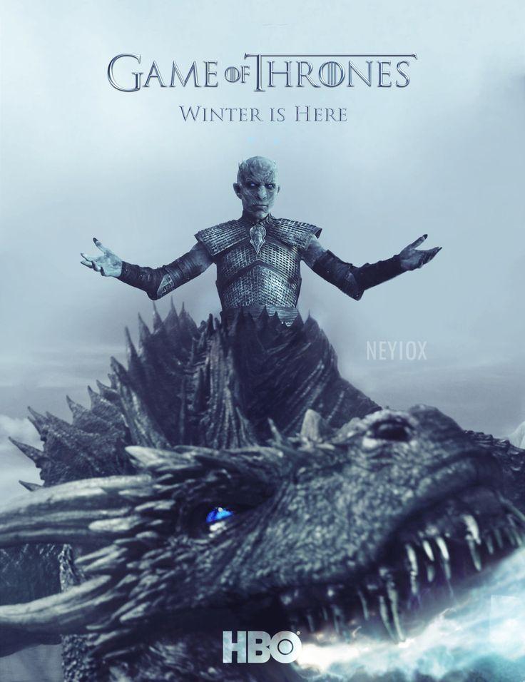 169bbf6ce41f1da678b7efdbddca2aec game of thrones season poster ice dragon jpg