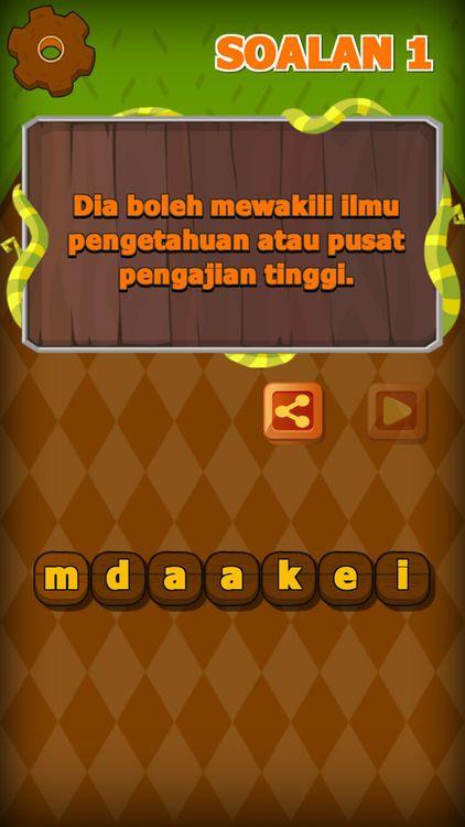 Games Teka Teki Silang Kata Hebat Jom Teka Kata by Wong Pooi San