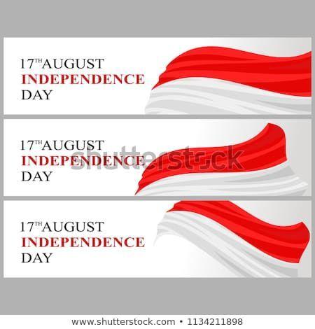 indonesia independence day poster terhebat hari kemerdekaan indonesia indonesian independence day stock vector