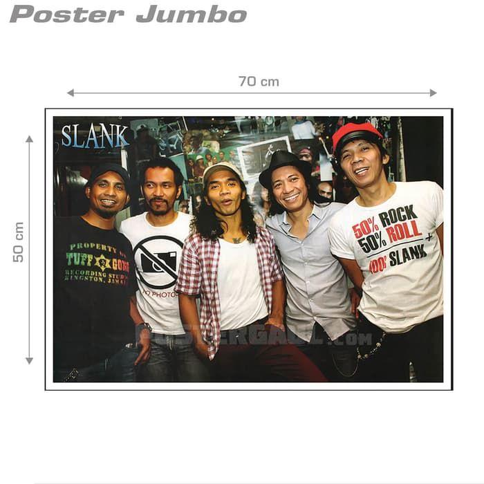 poster slank 18 jumbo size 50 x 70 cm