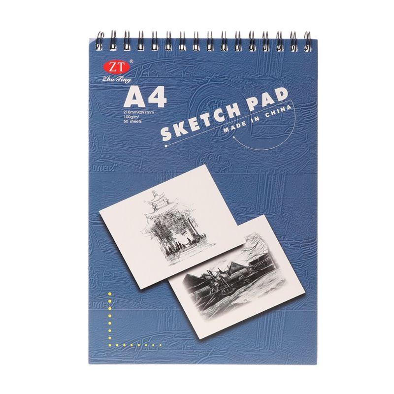 gratis pengiriman 60 lembar a4 lukisan menggambar kertas buku sketsa pad seni sketsa sekolah hadiah