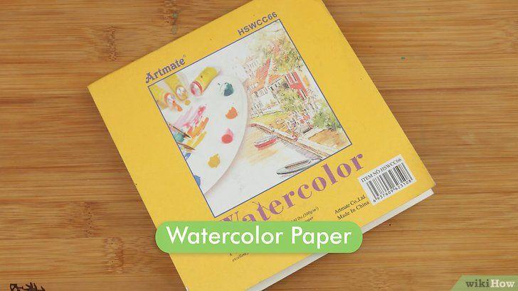 gambar berjudul paint with watercolors as a novice step 13