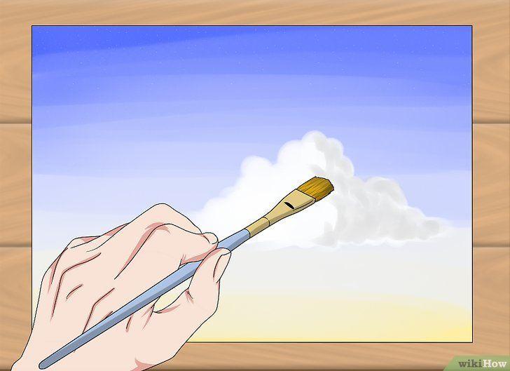 gambar berjudul paint clouds step 19