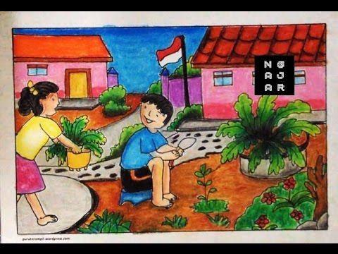 Lukisan Pemandangan Untuk Mewarna Terbaik Dapatkan Himpunan Contoh Poster Pemandangan Untuk Mewarna Yang
