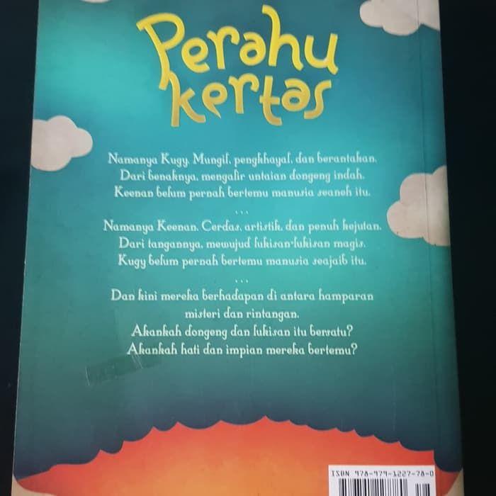 Lukisan Perahu Kertas Meletup Jual Novel Perahu Kertas by Dee Kota Malang theresiasuyetnan