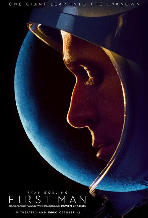 Movie Poster Design Menarik Movie Poster for First Man Flicks Co Nz