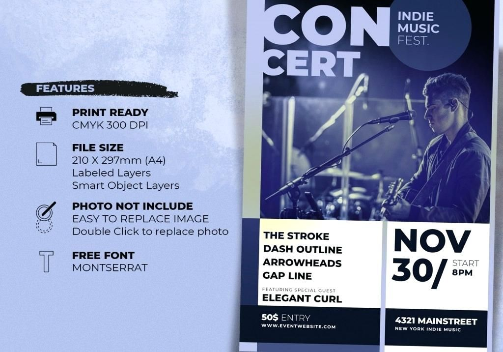 phenomenal free concert flyer template free concert poster template vintage concert poster template free free concert poster