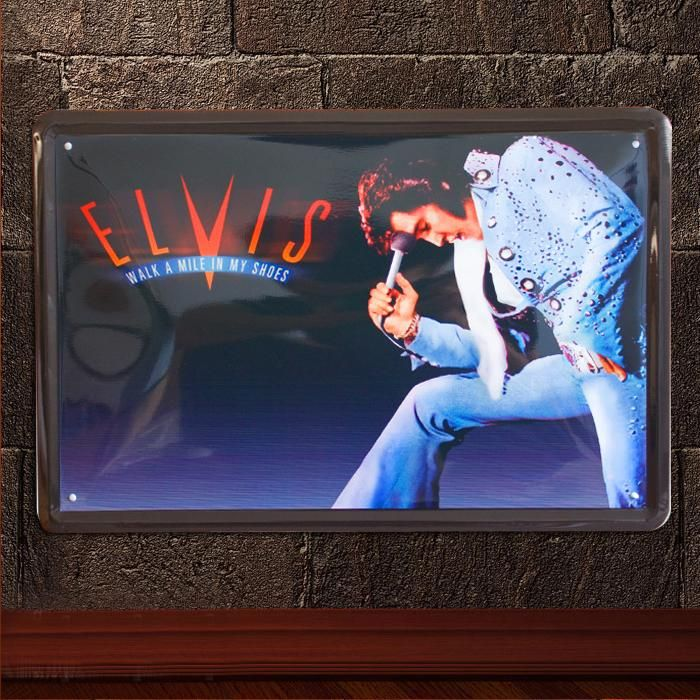 2019 elvis presley rock n roll vintage music poster retro painting picture cafe bar iron metal posters mural wall sticker home art decor tin sign from