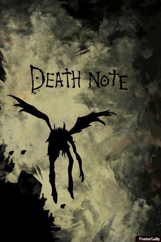 popular art prints and decorative items online death note artwork artist karan mehta postergully