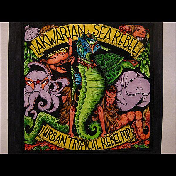 urban tropical rebel pop akwarian sea rebel