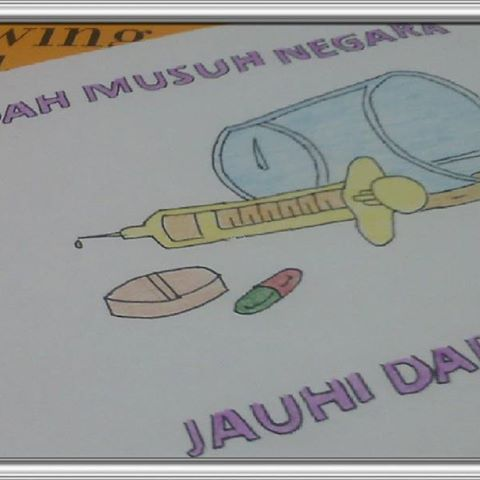Poster Anti Dadah Bernilai Images About Dadahmusuhno1negara On Instagram