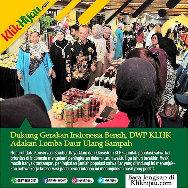 perempuan dan aksi daur ulang di indonesia klikhijau klikhijau2019 klhk2019 klhk kementerianlingkunganhidupdankehutanan kementerianlhk