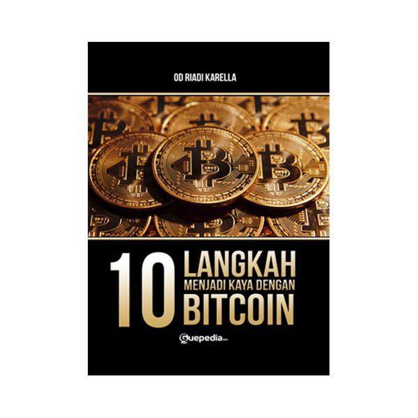 poster buka bersama power jual 10 langkah menjadi kaya dengan bitcoin by od riadi karella buku