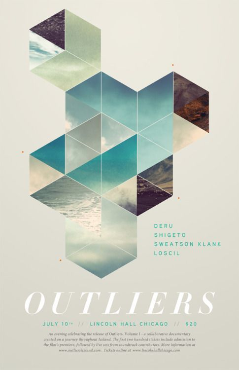 outliers live event poster hope you guys enjoy my retrospective design inspiration for frankbyocbc card design swing with the prints hues